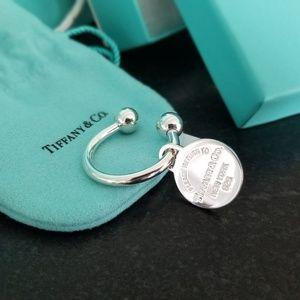 Tiffany & Company Return to Tiffany Round Key Ring